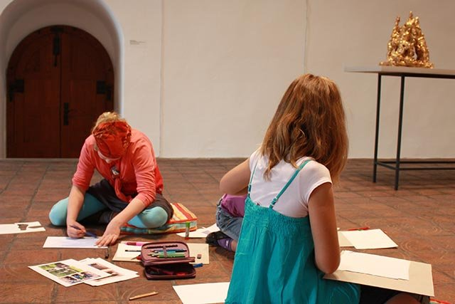 Ferienprogramm im Kunstmuseum
