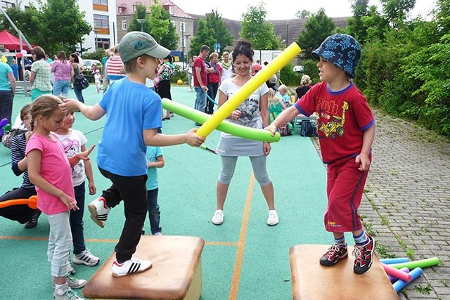 Kindersport beim HSV Magdeburg