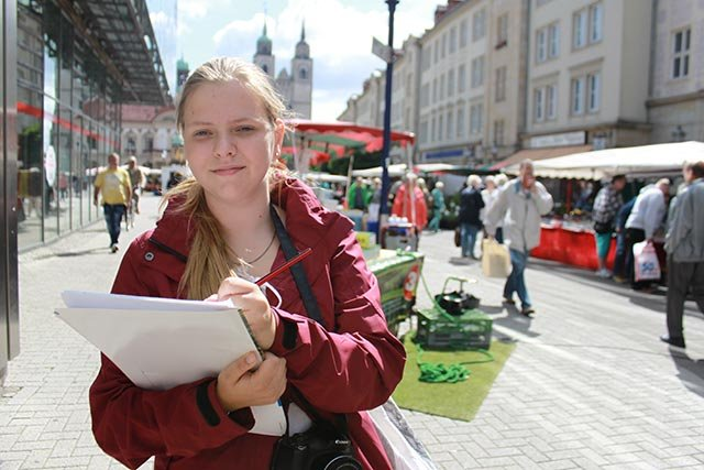 Kinderreporterin Anna