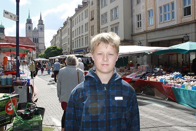 Johannes 13 Jahre