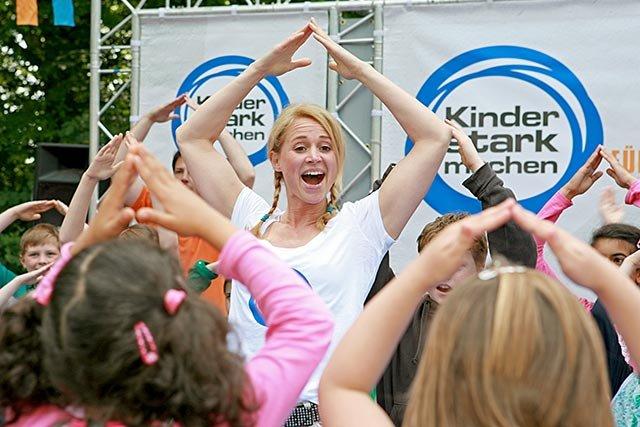 Pusteblume Kinderfest mit Singa Gätgens
