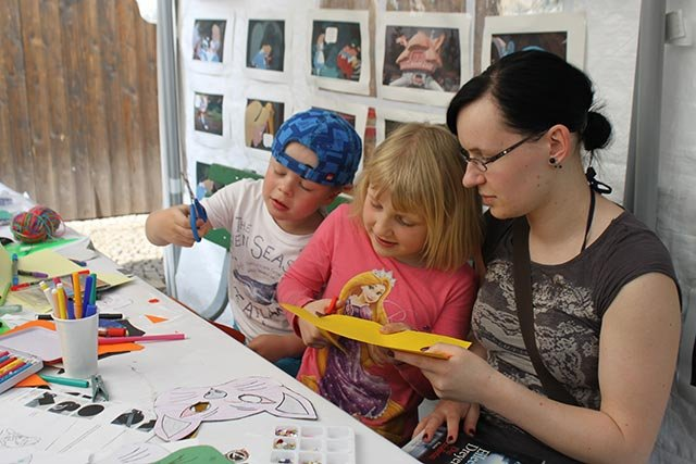Bücherfest umGeblättert 2014