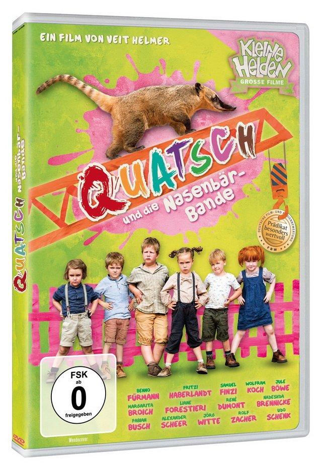 DVD-Cover Quatsch und die Nasenbärenbande