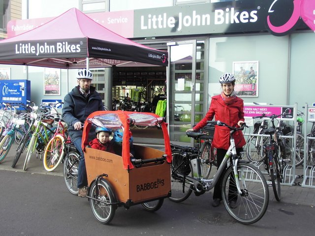 E-Bike Test_Abholung