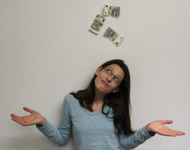 Kinderreporterin Anastasia zum Thema Geld