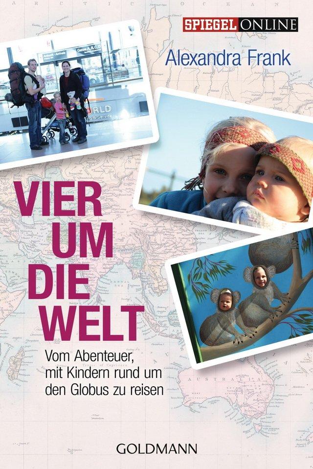 Buchcover Vier um die Welt