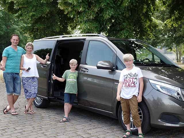 Familienauto Mercedes Benz V-Klasse
