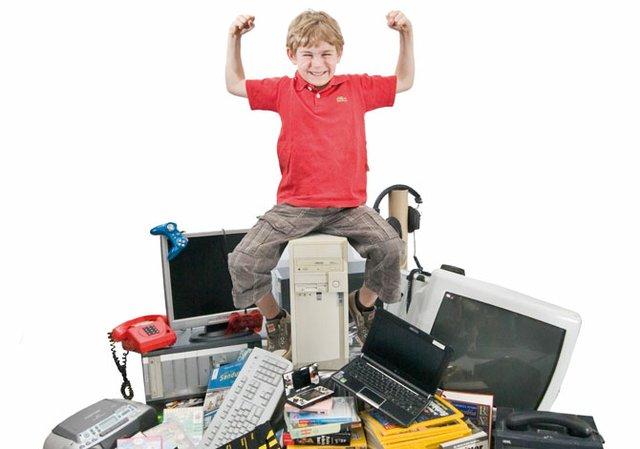 So viel Technik braucht das Kind!?
