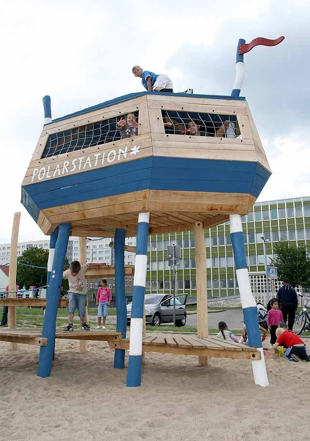 Spielplatz Polarstation