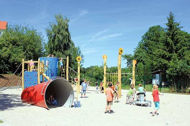 Spielplatz Kleingarten in der Motzstraße