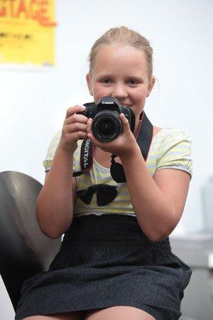 """Nele war 2 Jahre Schülerredakteurin bei der """"Schüler-Rakete""""."""