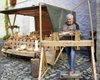 Martinsbauernmarkt auf der Wasserburg Egeln