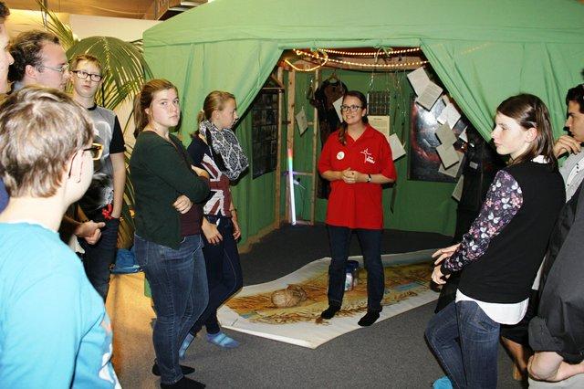 Mitmachausstellung Bibel im Zelt