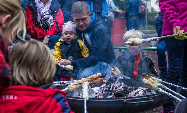 Kartoffelfeuerfest im Familienhaus am Park