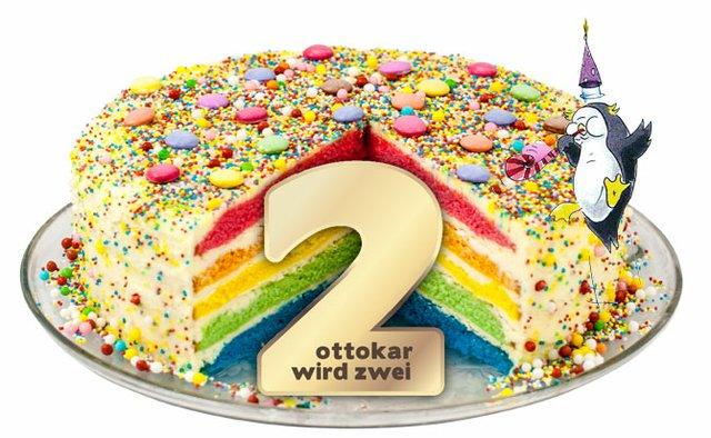 Happy Birthday Torte.