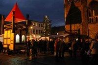 Offene Höfe im Advent in der Tangermünder Altstadt