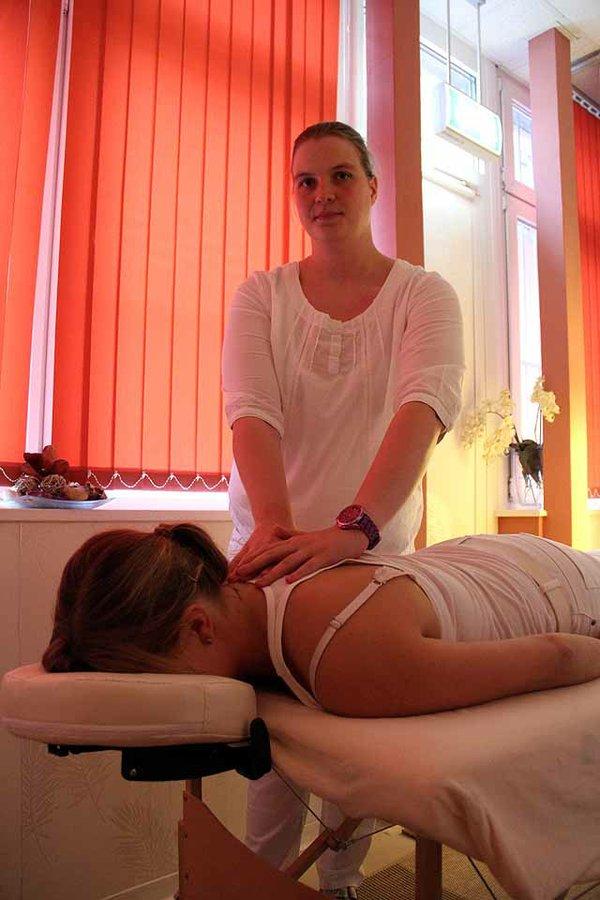 Entspannung durch Massage