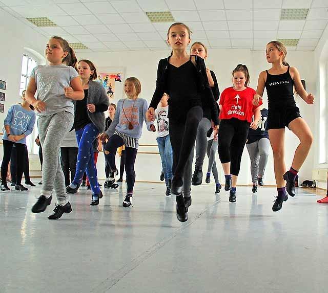 Stepptanz - Der Tänzer wird zum Musiker