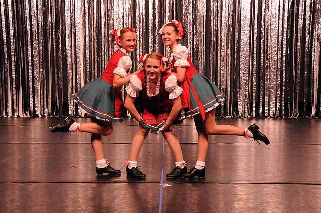Auftritt des Stepp Dancecenter