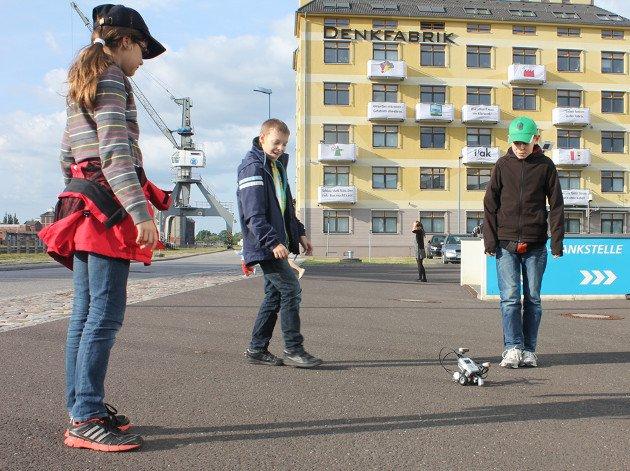 Roboterkurs bei Finsotec