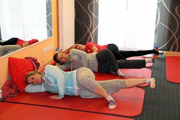 Schwangeren-Gymnastik
