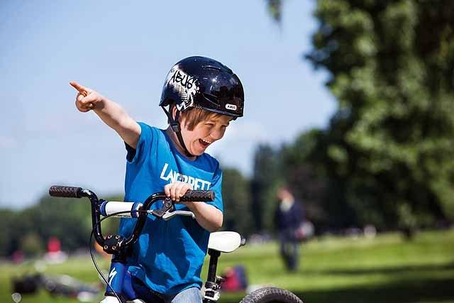 Fahrradspiele für Groß und Klein