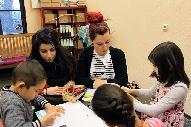 Kinderbetreuung im Volksbad Buckau