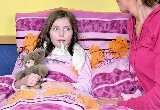 Kind erkältet - Schniefnasenalarm