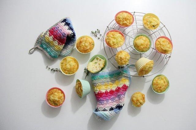 Buttermilch-Gemüse-Muffins