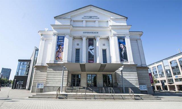 Opernhaus des Theater Magdeburg