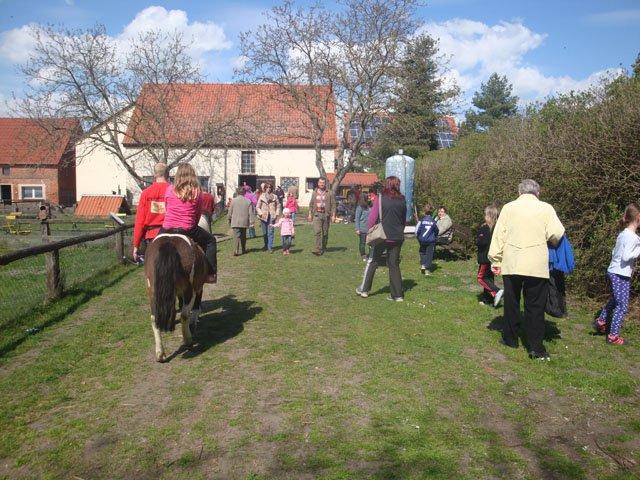 Kindertag auf dem Röhlschen Hof in Wallwitz