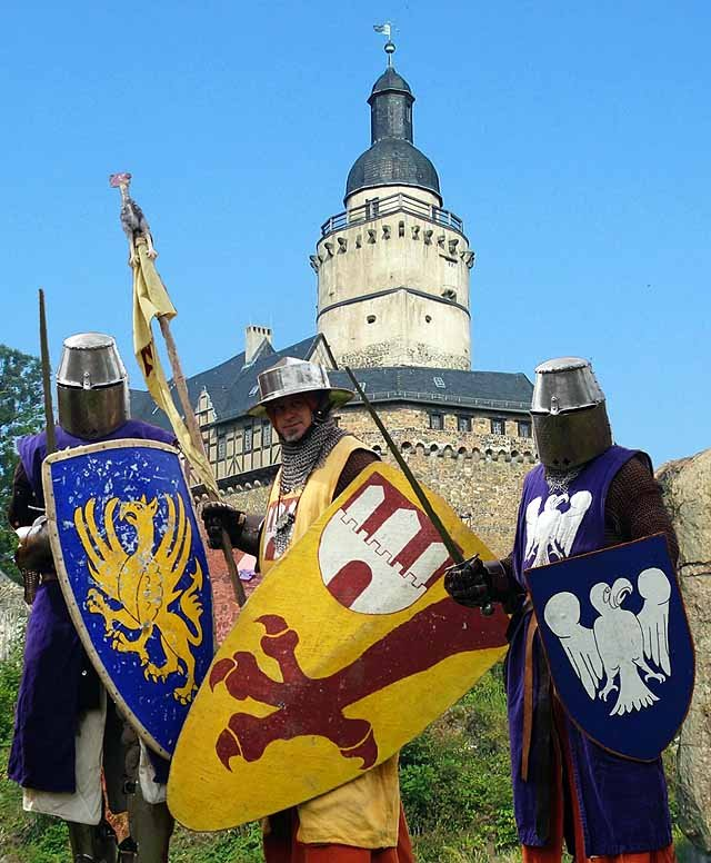 Gelebtes Mittelalter auf der Burg Falkenstein