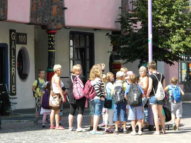 Kinderstadtführung durch Magdeburg