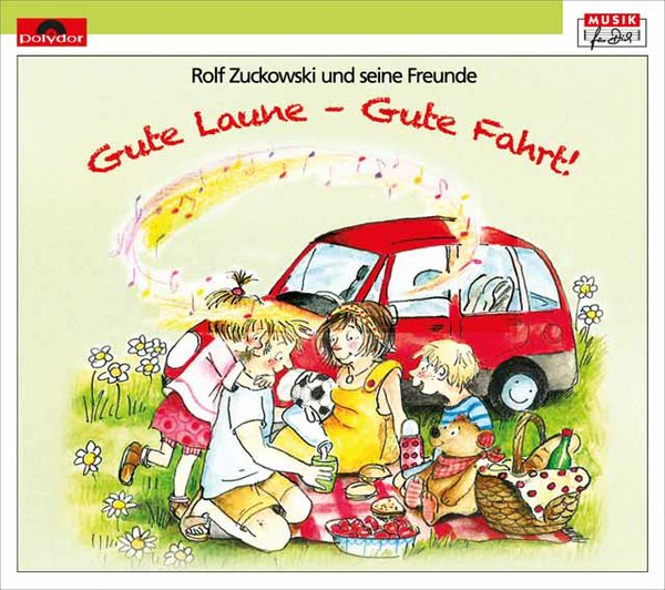 Gute Laune - Gute Fahrt mit Rolf Zuckowski