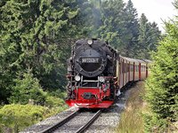 Die Brockenbahn der Harzer Schmalspurbahnen