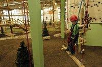 Indoor-Kletterwald im Nova Eventis