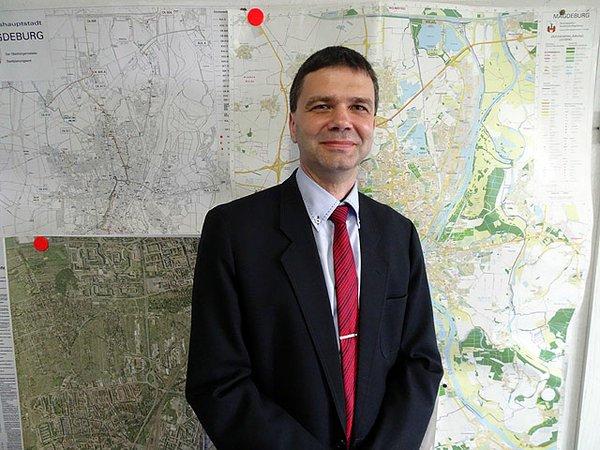 Mario Schröter vom Verkehrsplanungsamt