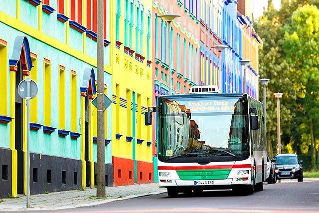 Öffentlicher Nahverkehr in Magdeburg