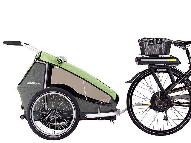 Fahrrad fahren mit Anhänger