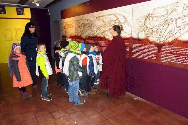 Kinderführung auf der Burg Querfurt