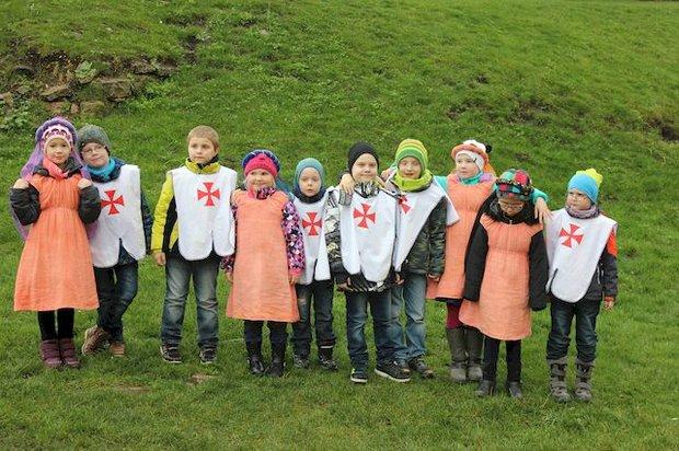 Kindergeburtstag auf der Burg Querfurt