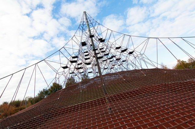 Kletterpyramide in Olvenstedt