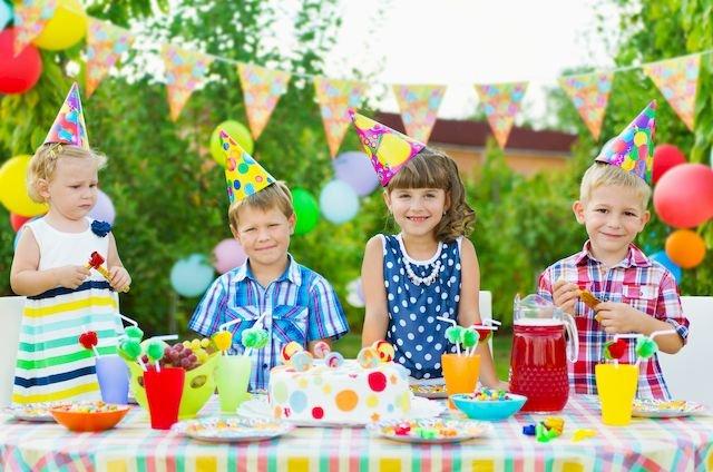 Kinder feiern!