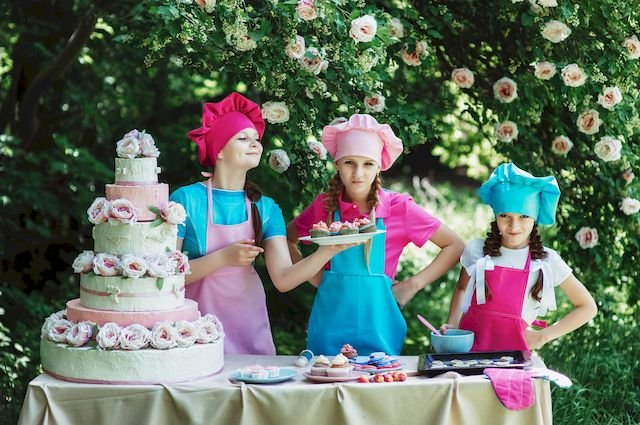 Kinder feiern