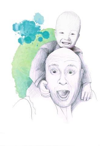Kolumne - Vom besten Job der Welt: Papa sein