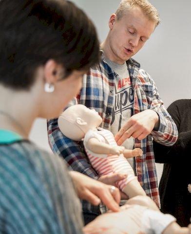 Erste-Hilfe-Kurs für Babys
