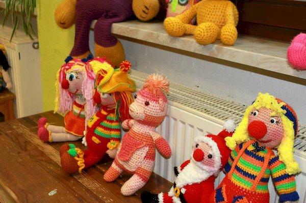 Häkel-Puppen von Ingeburg Hartmann