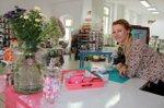 Antje Haase in ihrem Kreativladen Frida Fantasie