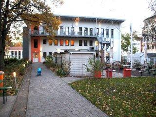 Familienhaus im Park