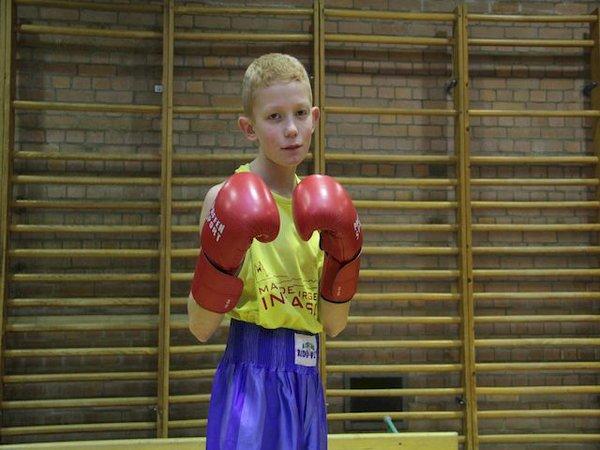 echt sportlich - Jan ist Boxer